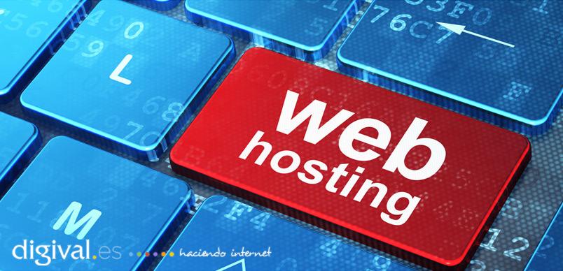 elegir hosting web