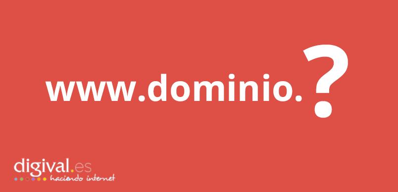 Dominio .es o .com