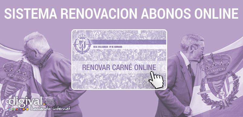 Renovación abonos online