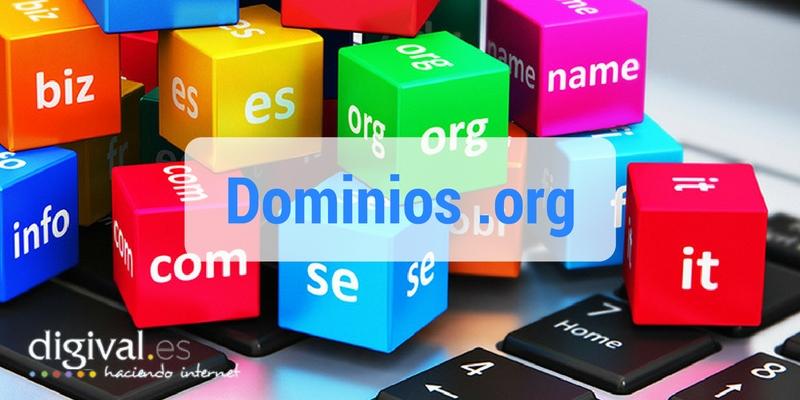 Dominios .org