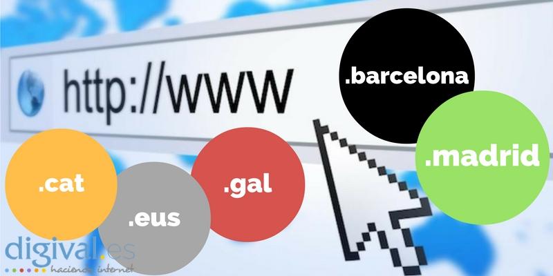 Los dominios locales