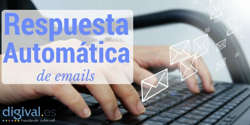 repuesta automatica de emails