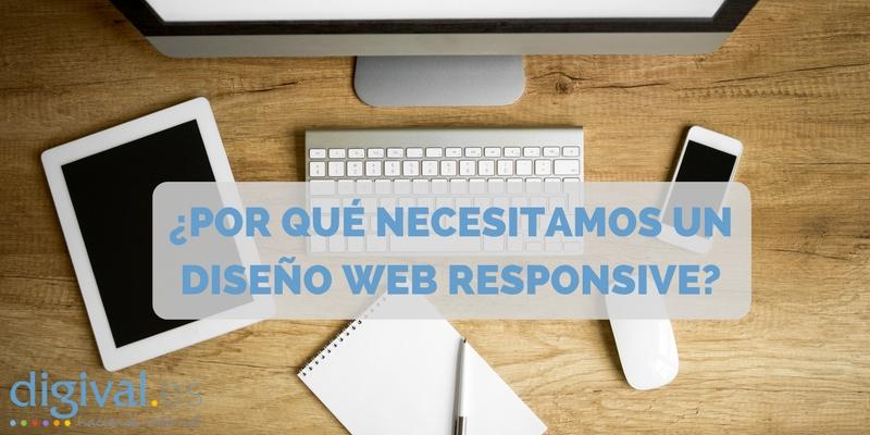 Por qué necesito un diseño responsive en mi web