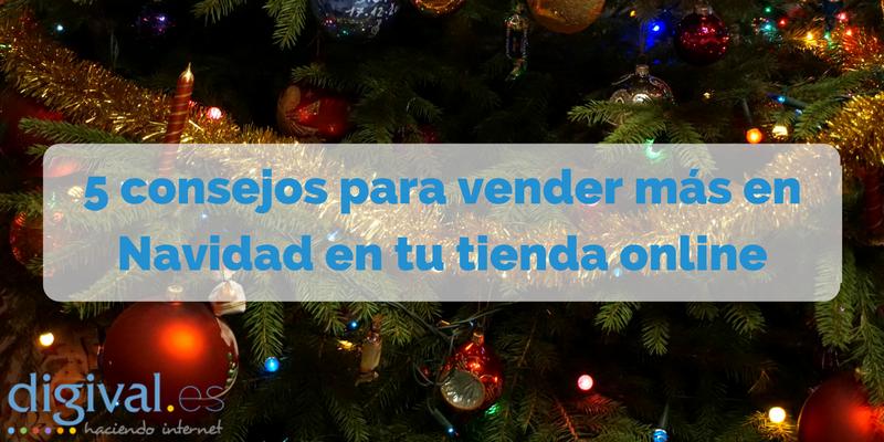 Vender más en Navidad en tu tienda online