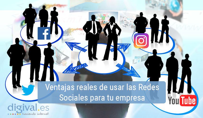 ventajas redes sociales empresa