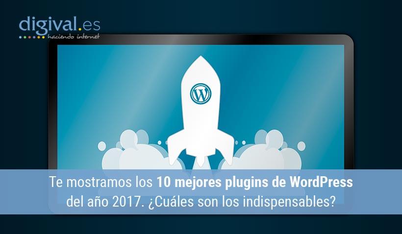 10 mejores plugins WordPress en 2017