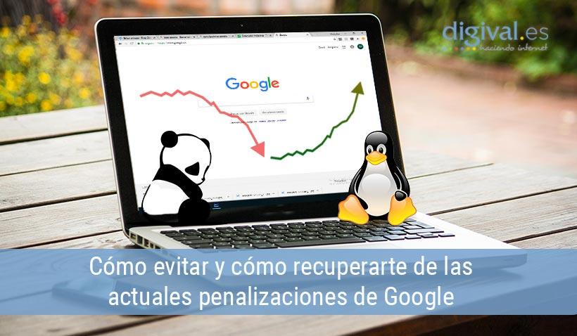 Evitar penalizaciones de Google